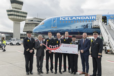 Icelandair Celebrates Inaugural Flight from Berlin
