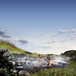Hot Springs and Lava Cave £115