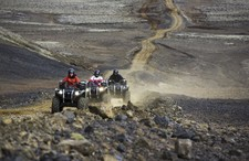 ATV and the Blue Lagoon
