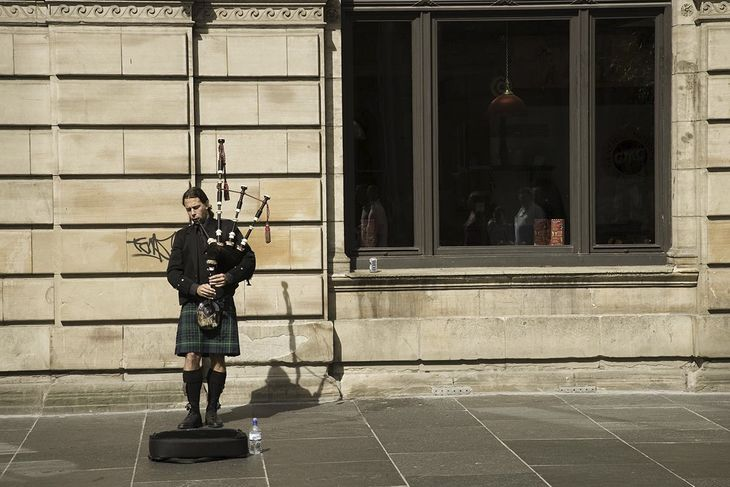 Glasgow Pipeplayer