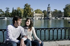 Madrid people pond