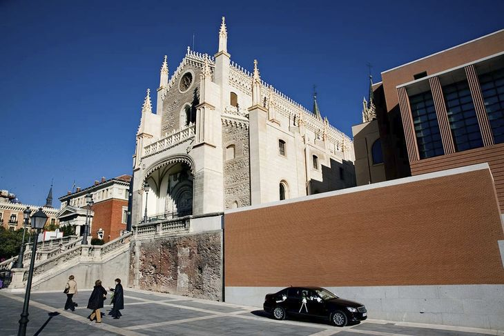 Madrid church