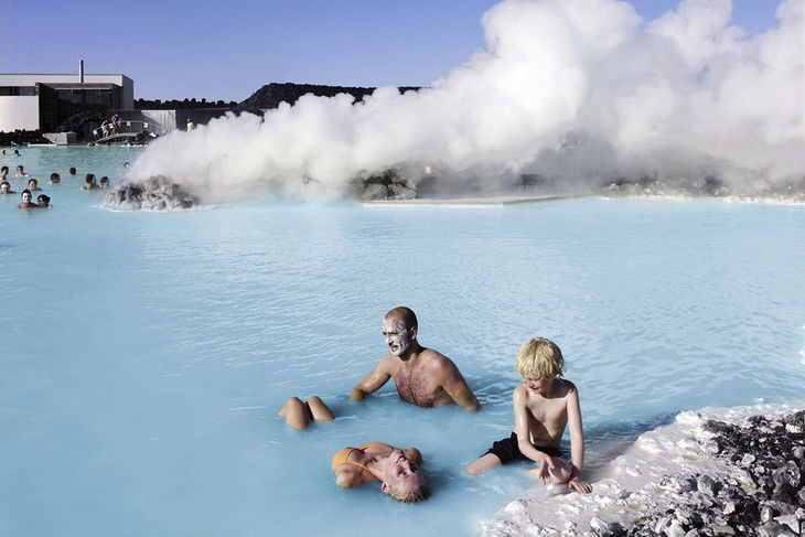 Blue lagoon family