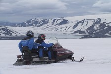 Golden Circle & Langjökull Snowmobiling