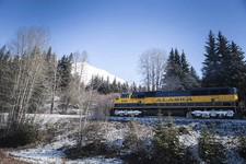 Anchorage Alaska train
