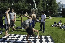 Bergen breakdancing park