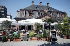 Frankfurt terrace cafe