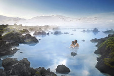 Blue lagoon couple