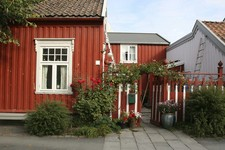 Trondheim red house