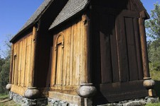 Trondheim wooden church