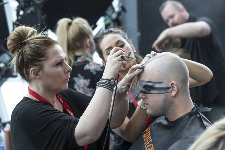 Eve Fanfest Makeup