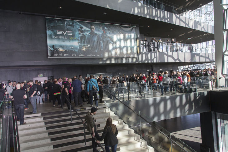 Eve Fanfest Harpa Hall