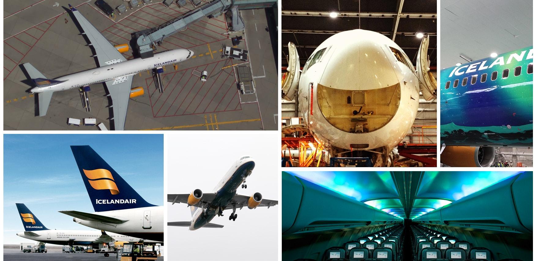 The icelandair aircraft fleet icelandair boeing 757 200 sciox Gallery