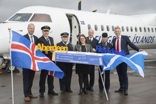 Icelandair begins flights from Aberdeen