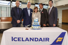 Icelandair began flights to Montreal yesterday, 19th May