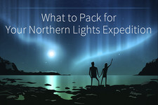 Packing for a Northern Lights Trip - Infographic