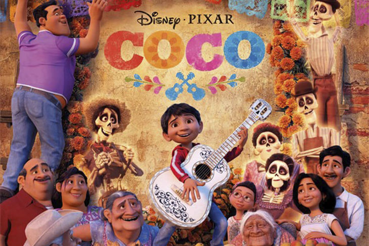 You are invited to the film Coco