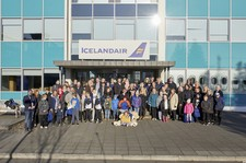 Twenty children and their families, a total of one hundred people, were awarded a travel grant from Icelandair's Special Children Fund.