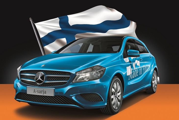 Double points for rentals with Sixt Finland in April.